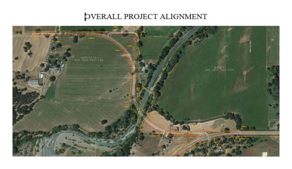 Evergreen Bridge Replacement Overall Project Alignment