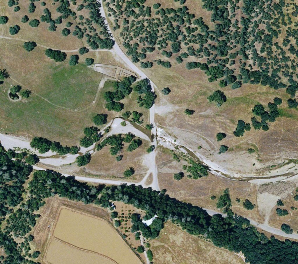 McCoy Road at NF Dibble Creek Aerial
